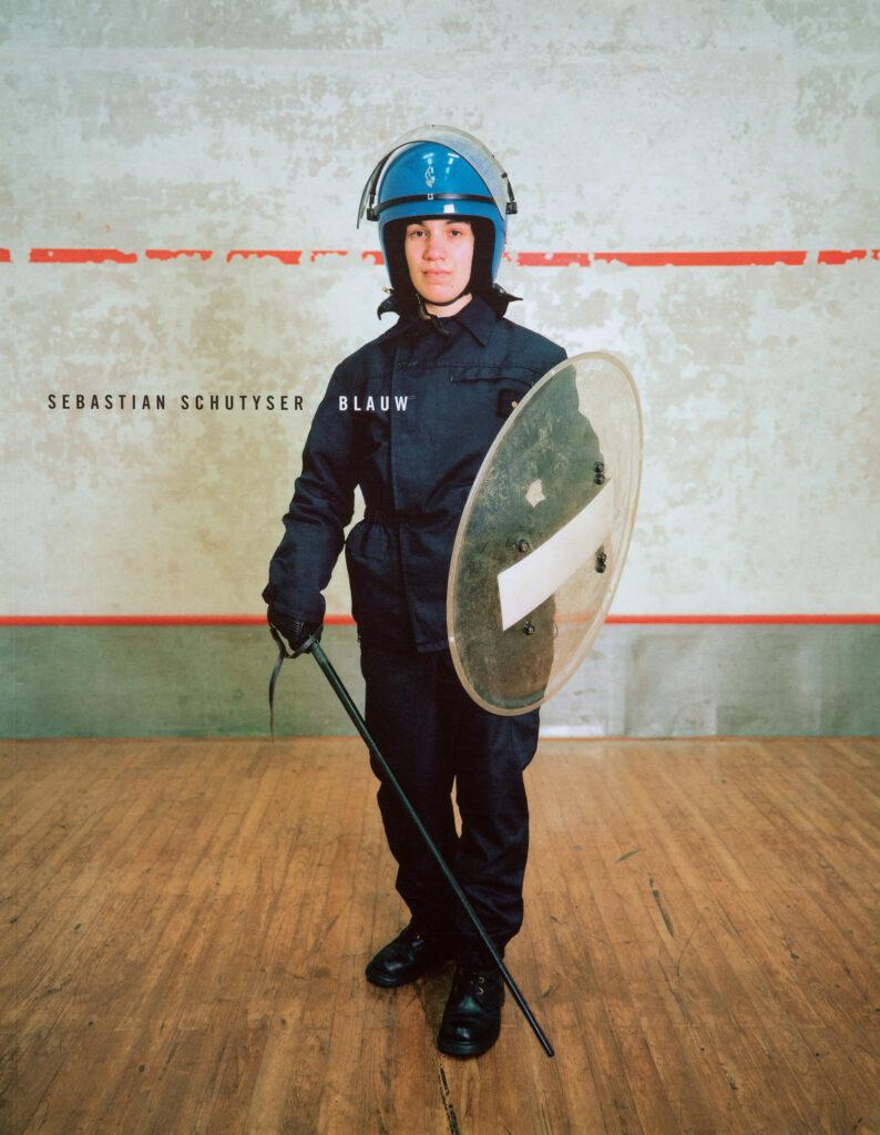 Blauw is a portrait of Belgian police forces by Sebastian Schutyser