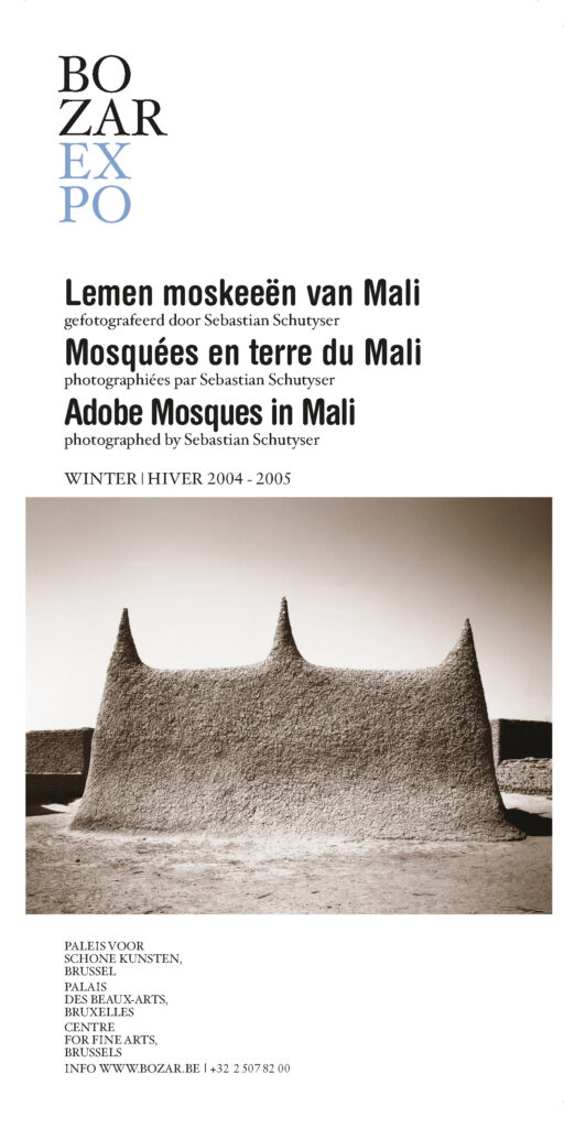 Adobe mosques in Mali exhibition at BOZAR Centre for Fine Arts in Brussels