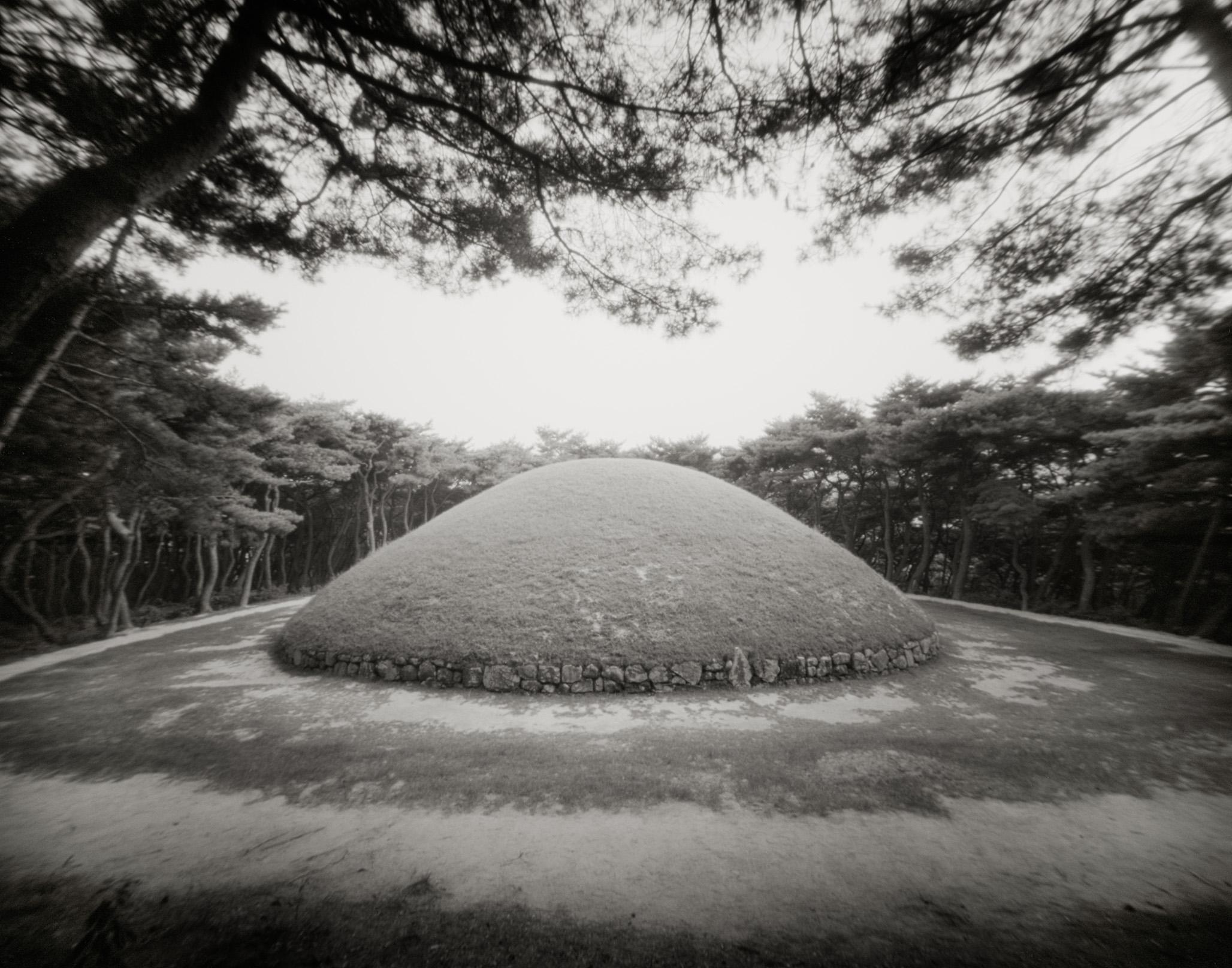 Silla tombs in South-Korea